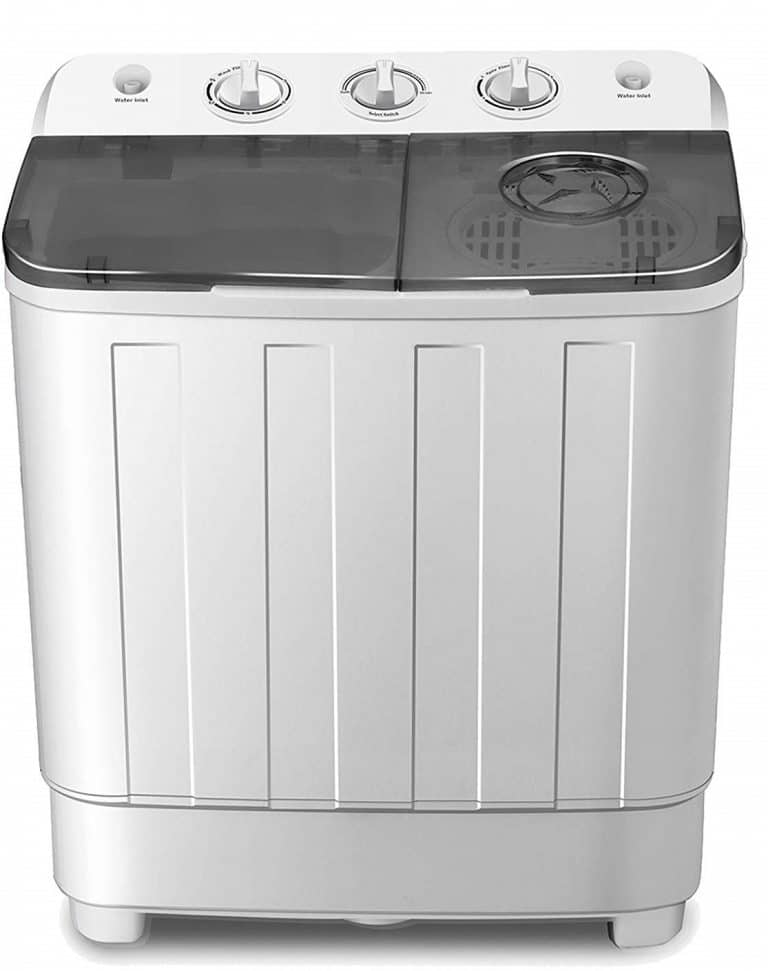 4-EVER Portable Mini Compact Washing Machine