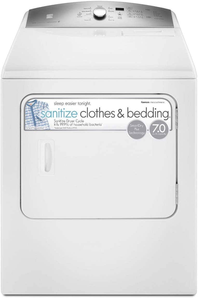 Kenmore Electric dryer review