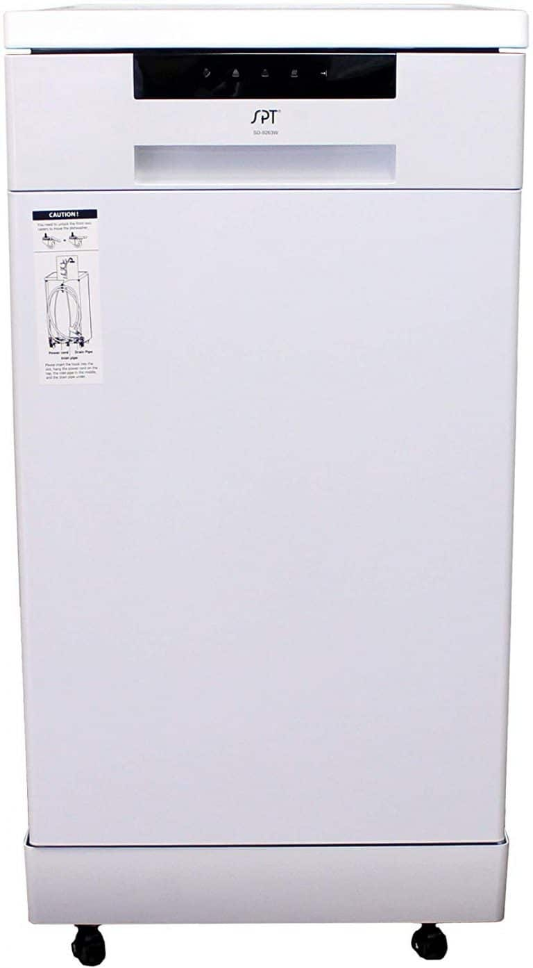 SPT SD-9263W dishwasher review white
