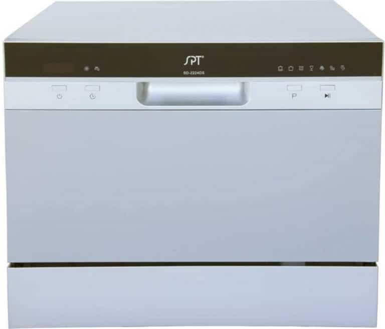 SPT SD-2224DS Compact Countertop Dishwasher